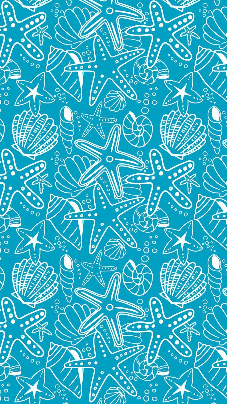 Seashells wallpaper 24 - Jul 26 Seashells And Starfish Wallpaper