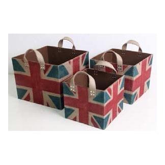 Set Of Three Baskets. Adamsfurniture.com