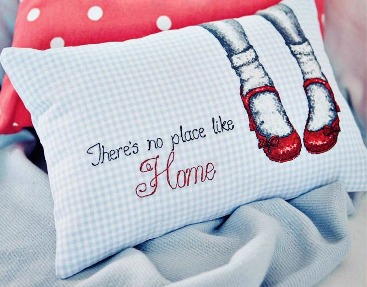 Take Me Home - Available in CrossStitcher 281