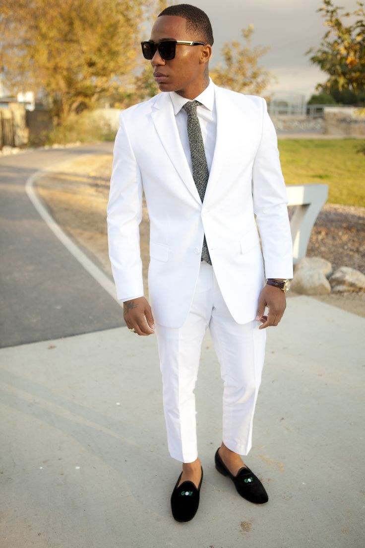 07a35b708f97 15 Ideal White Party Outfit Ideas for Men for A Handsome Look ...