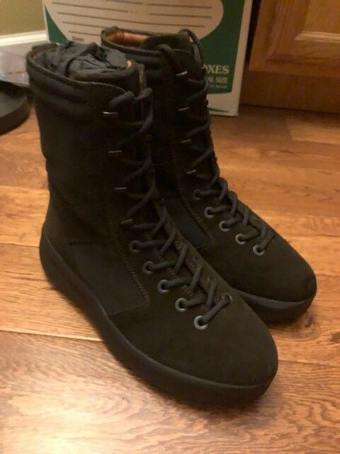 02d8a27f7 Yeezy Season 3 Mens Military Boot Size US 10 EUR 43 Onyx Shade  fashion   clothing  shoes  accessories  mensshoes  boots (ebay link)