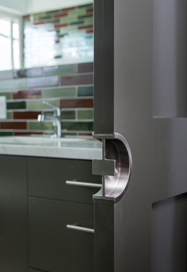 modern pocket door pulls - Google Search