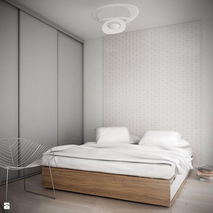 Sypialnia styl Minimalistyczny - zdjęcie od Wnętrzowe Love - Sypialnia - Styl Minimalistyczny - Wnętrzowe Love