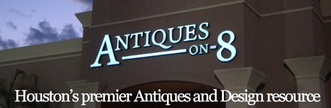 Home to over 50 of Houston's select dealers of antiques, collectibles & designer furnishings, we offer 45,000 square feet of bright, spacious, air-conditioned adventure to those who love antiques. We also reupholster, refinish and repair antiques as well as have a cafe if you are hungry or thirsty.