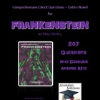 Frankenstein Study Guide Questions - Entire Novel