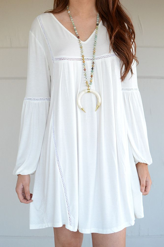 Sunnyvale Peasant Dress