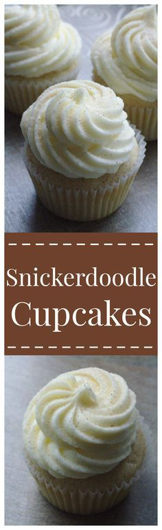 Snickerdoodle Cupcakes – All of your favorite snickerdoodle flavors in cupcake form! An amazing sweet treat perfect for a party or dessert tonight!