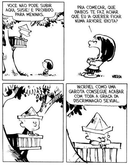 Calvin e Haroldo: Tirinha nº 19