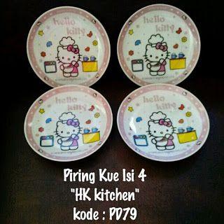 Toko Cherish Imut: Piring Hello Kitty Murah  Grosir Ecer Untuk Kue Is...