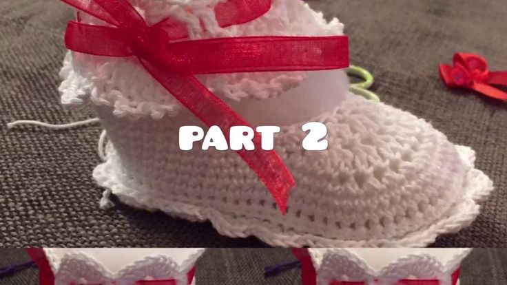 Crochet  Slippers - FREE - Tutorial - Baby - Party - Christmas - Slippers