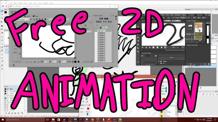 What Is the Best Free 2D Animation software? (FireAlpaca, Pencil 2D, Tup...