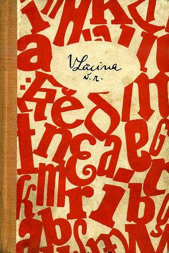 Czech book cover, 1954