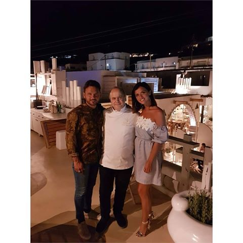 Lucy Mecklenburgh and Ryan Thomas lived their dream Mykonos vacation at Kenshō Boutique Hotel & Suites, Mykonos! During their stay, they were treated to a gourmet dinner prepared by award-winning executive chef George Stylianoudakis.