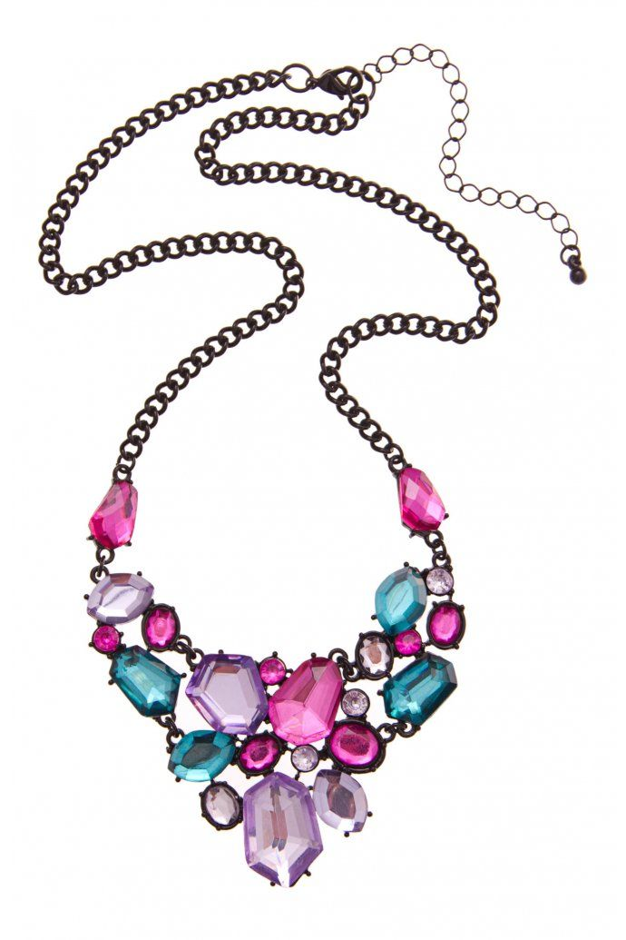Stone Necklace- by Colette Hayman. Love this!
