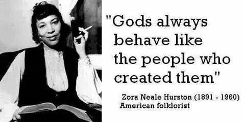 — Zora Neale Hurston - American folklorist, anthropologist & author. She is best known for her 1937 novel 'Their Eyes Were Watching God.'