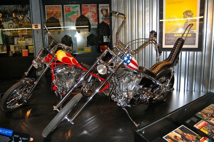 "Photo - ""Harley-Davidson Museum Easy Rider Captain America Bike"" by Danemroberts"