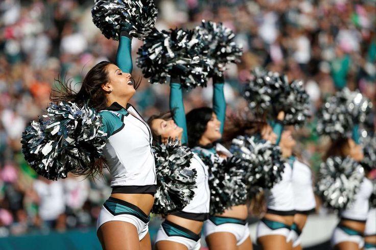 Philadelphia Eagles' cheerleaders perform - Michael Perez/AP
