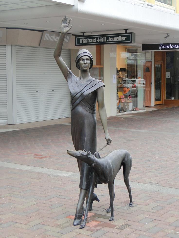 Mark Whyte sculpture, Napier