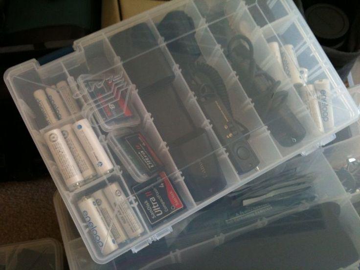 DIY Camera Gear Organizer - Tackle Box