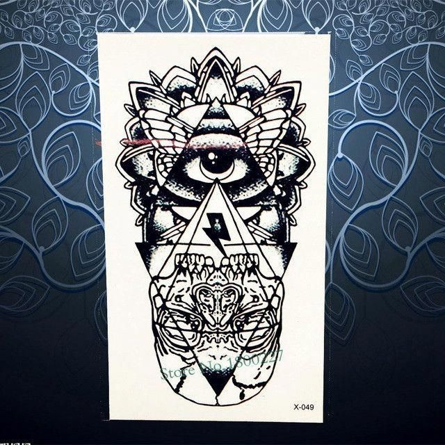 b4cf0940ef7df Hot Sale Temporary Tattoo Sticker Black Dreamcatcher Tatoo Waterproof Women  Henna Body Arm Art Dream Catcher Tattoo Stickers PH3 #Tattoosonneck