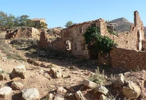 vía @PoblesValAbando: http://bit.ly/1eJmMUD. Fto: Aldea de Vizcota #Alpuente.