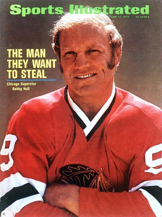 Bobby Hull, Chicago Blackhawks