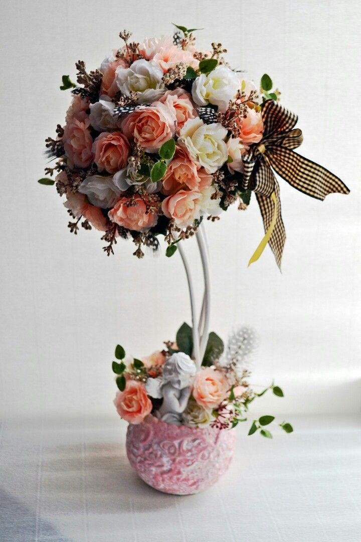 #flower-topiary #floral