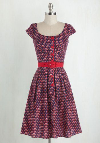 I would wear this all day- 1950s style dress. Wing Dancing Dress $94.99 AT vintagedancer.com