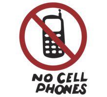 Luke's Diner No Cell Phones t-shirt - Gilmore Girls, Stars Hollow, Rory, Lorelai, The WB by fandemonium