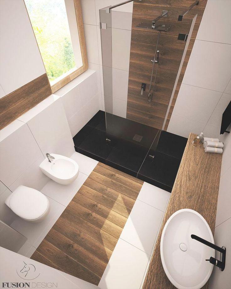 modern & scandi bathroom for parents