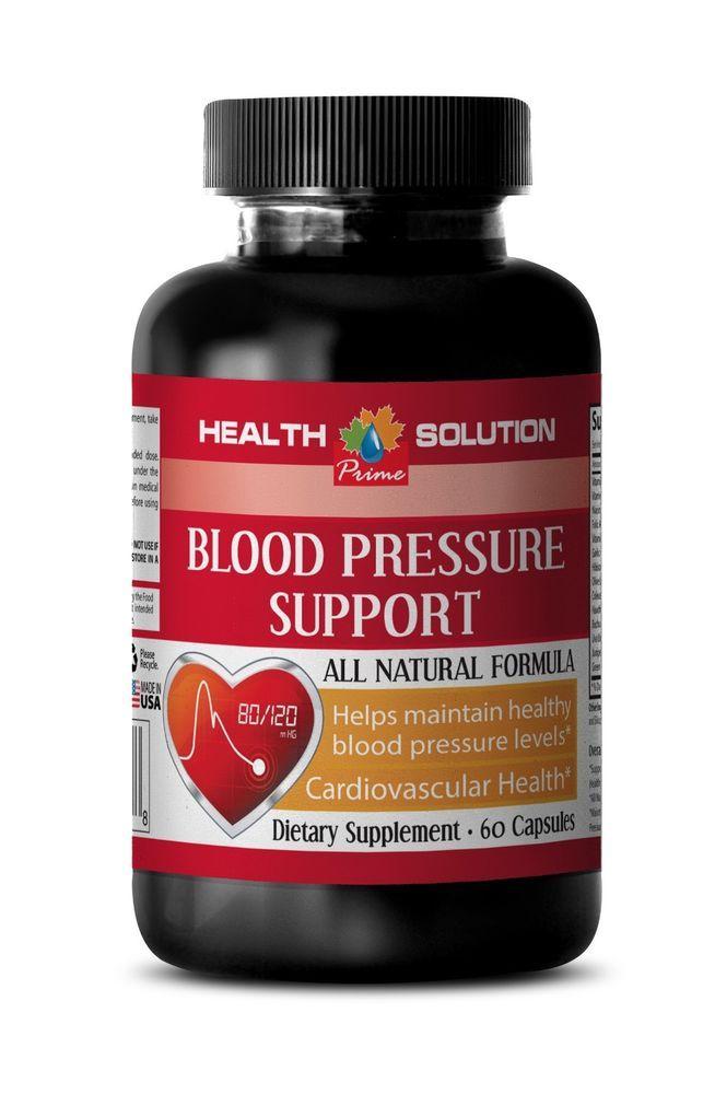 Antioxidant Capsules - Blood Pressure Complex - Garlic Tablets 1B #HealthSolutionPrime