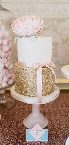 Edible Sequin cake | by Cotton and Crumbs