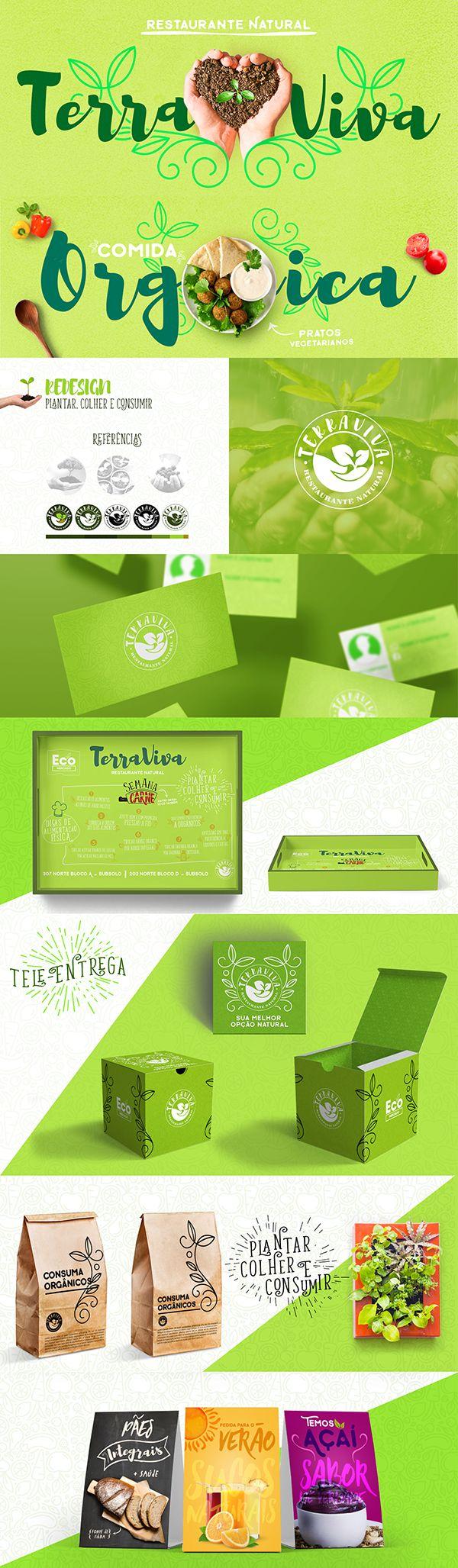 TerraViva - Restaurante Natural on Behance