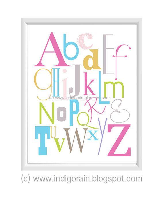 Baby Nursery Art Print Dog Abc Nursery Decor Alphabet Print: 1000+ Images About Baby Birth Stats On Pinterest