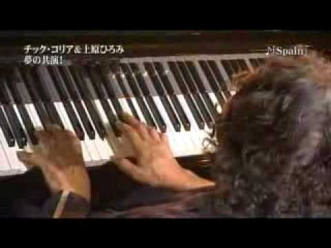 Chick Corea & Hiromi Uehara - Spain AMAZING!! I just died and went to 7th Heaven omg ... I love you two together Chick & Hiromi .. bring on the world tour and to Dayton, OH before July or September 2014.
