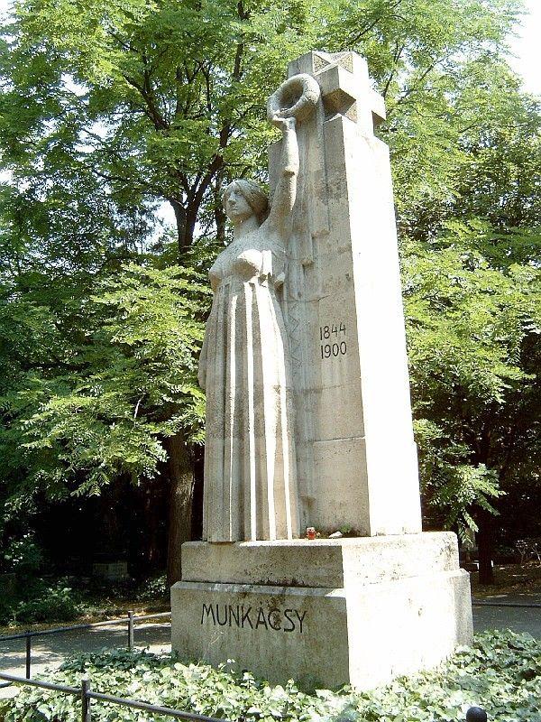 Munkácsy Mihály sírja -Kerepesi temető 33/34 sziget- Munkácsy Mihály – Wikipédia