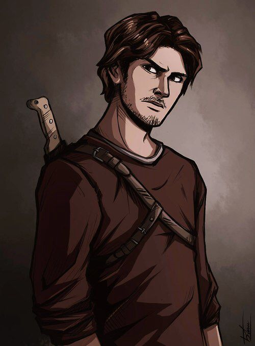 Telltales The walking dead season 2, Luke.