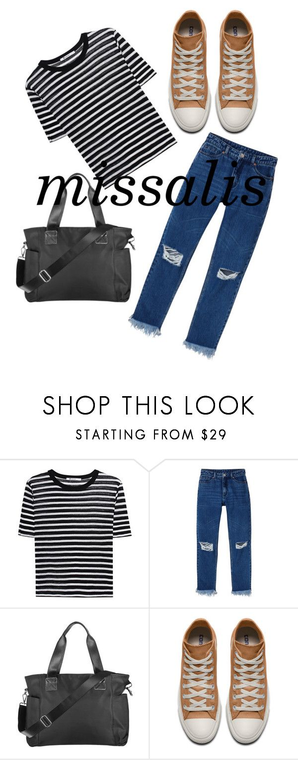 """""""missalis bag autumn choose"""" by wodluckbeens on Polyvore featuring T By Alexander Wang and Monki"""