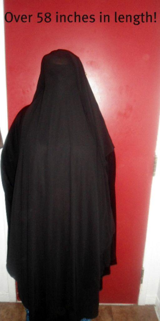 2pc Saudi XXL Niqab $34.99