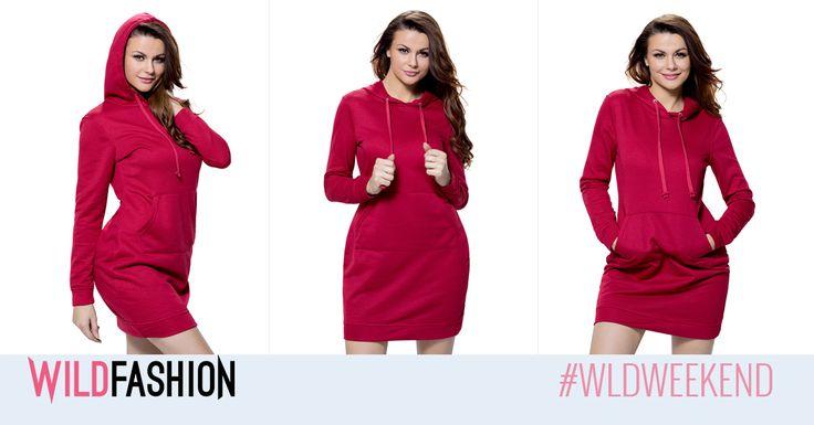 O rochie sport chic este un model must-have intr-o zi insorita de toamna...