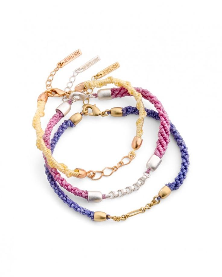 Athena Bracelets - JewelMint: Love the colors!Fashion, Jewelmint Collection, Style, Athena Bracelets, Jewelmint Favorite, Jewelry, Jewels, Accessories, Friendship Bracelets