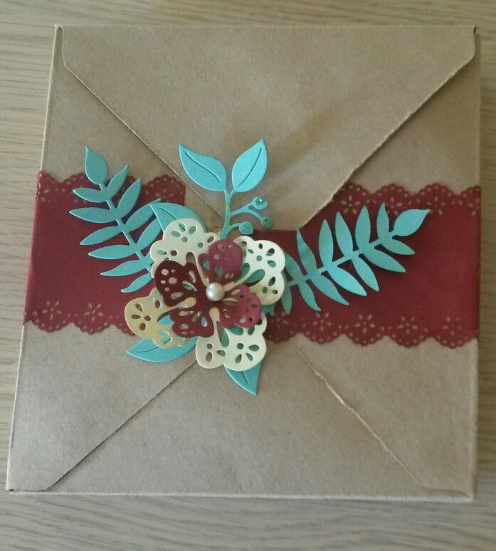 Busta envelope punch board