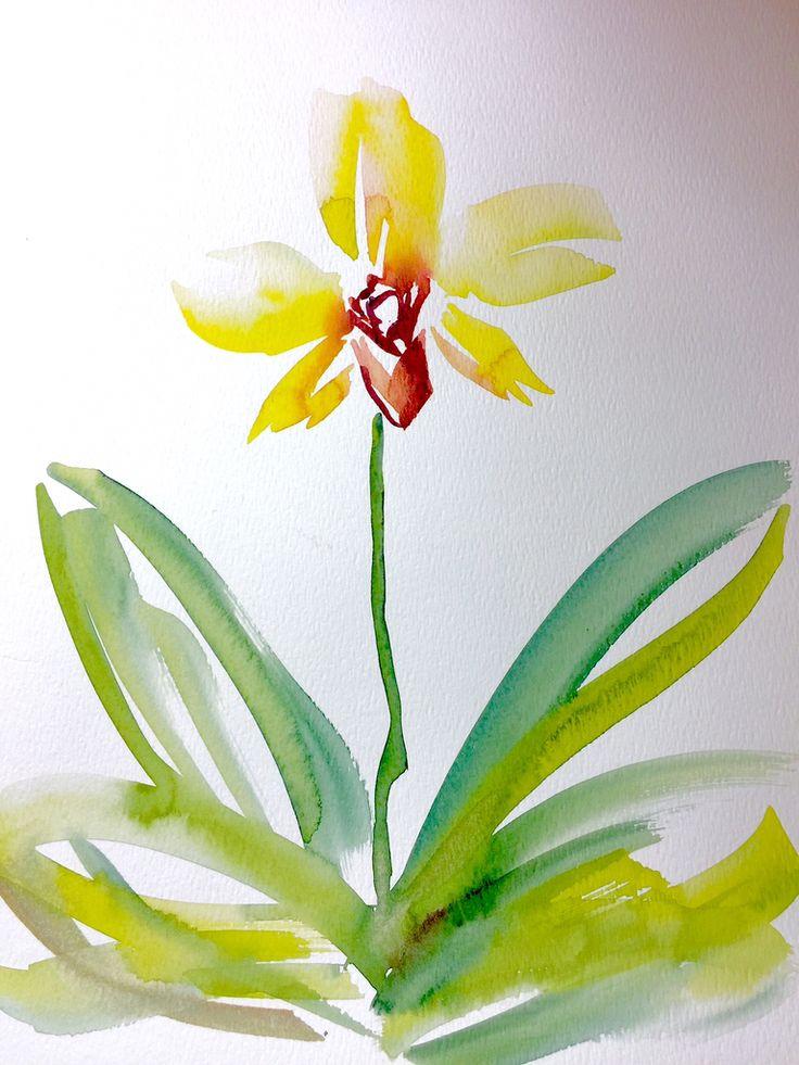 """Orchid"" by betsy leavitt"