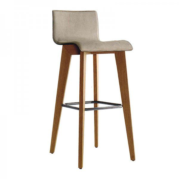 Toby Bar Stool - Beechwood #moden #design #restaurants #woodenlegs #leather #  sc 1 st  Pinterest & 35 best COMMERCIAL BAR STOOLS images on Pinterest | Commercial bar ... islam-shia.org