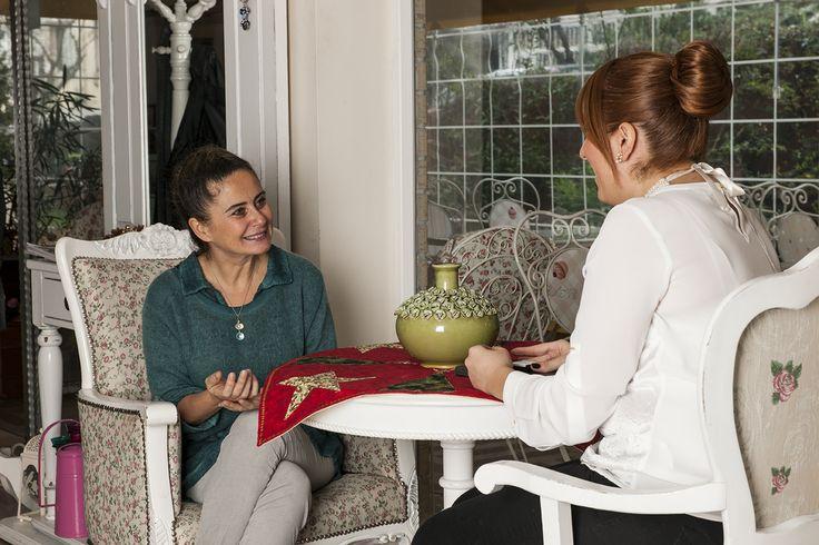 Evdemoda, söyleşi, Esra Akkaya, çekim, çilekli turta, yemek, food, interview, tart, pie, strawberry