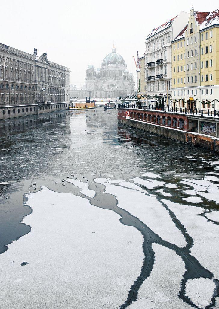 The Spree River - Berlin, Germany