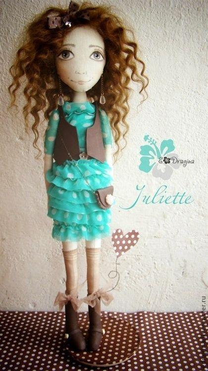 Коллекционные куклы ручной работы. Ярмарка Мастеров - ручная работа Джульетта. Handmade.