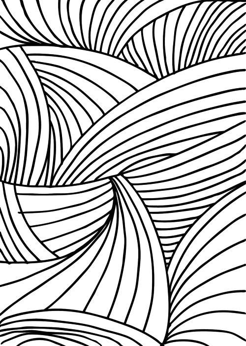 Mejores 25 imágenes de Abstract Coloring Pages en Pinterest ...