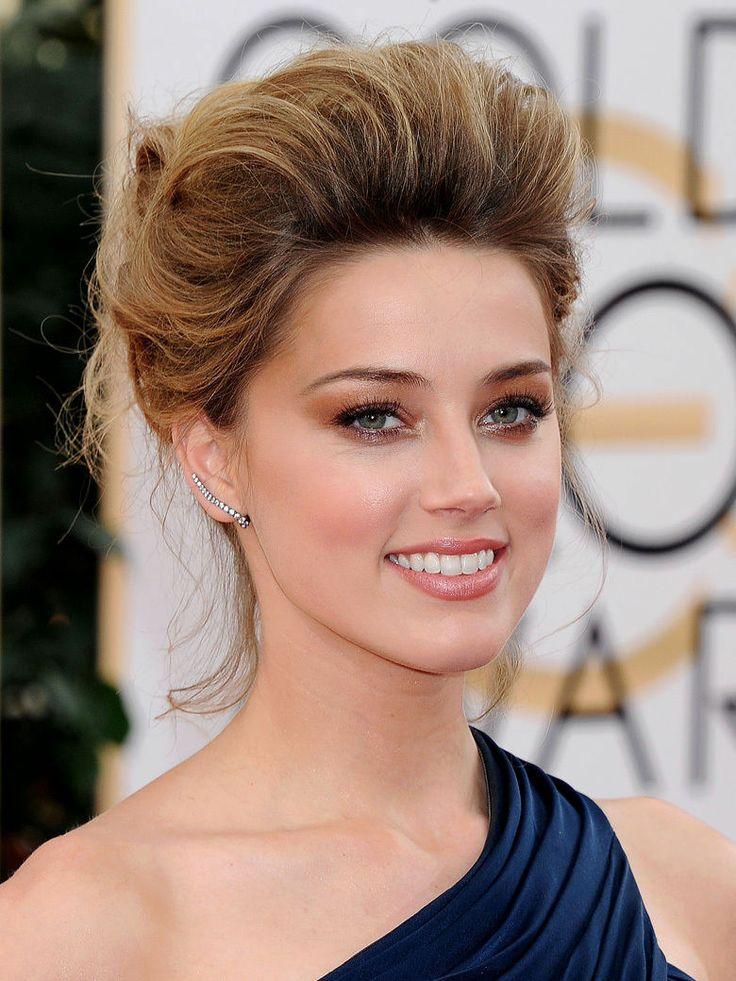 Le fard à paupières ambré d'Amber Heard