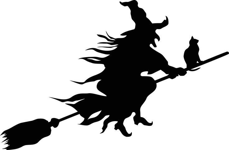 Heks, Onde, Skræmmende, Uhyggelig, Halloween, Flyvende